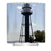 Duluth Mn Lighthouse Shower Curtain