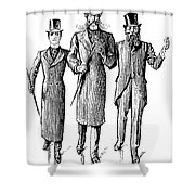 Dumaurier: Trilby, 1894 Shower Curtain