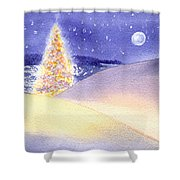 Dune Noel Shower Curtain