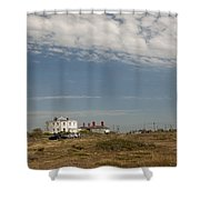 Dungeness Landscape Shower Curtain