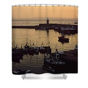 Dunmore East, Co Waterford, Ireland Shower Curtain