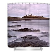 Dunstanburgh Castle Shower Curtain