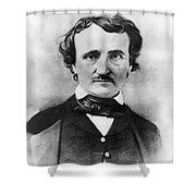 Edgar Allan Poe Shower Curtain