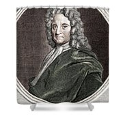 Edmond Halley, English Polymath Shower Curtain