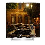 Edsel On Display Shower Curtain