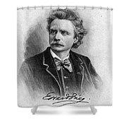 Edvard Grieg (1843-1907) Shower Curtain
