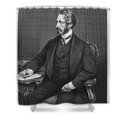 Edward Bulwer Lytton Shower Curtain