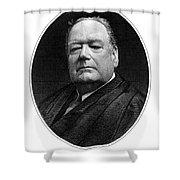 Edward Douglass White Shower Curtain by Granger