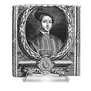 Edward Vi (1537-1553) Shower Curtain