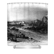 Egypt: Island Of Philae Shower Curtain