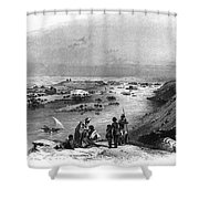 Egypt: Nile Scene Shower Curtain