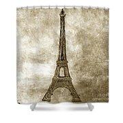 Eiffel Tower. Paris Shower Curtain