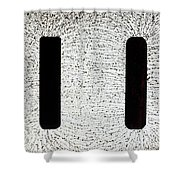Electrostatic Field Lines Shower Curtain