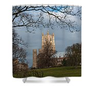 Ely Cathedral In City Of Ely Shower Curtain