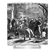 Emancipation, 1863 Shower Curtain
