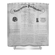 Emancipation Proclamation Shower Curtain