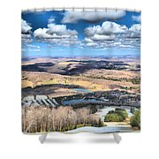 Endless Mountains Shower Curtain