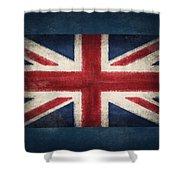 England Flag Shower Curtain