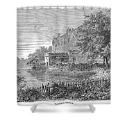 England: Warwick Castle Shower Curtain by Granger