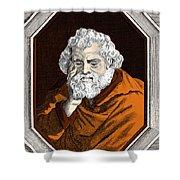 Euclid, Ancient Greek Mathematician Shower Curtain