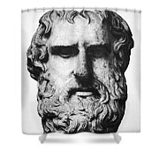 Euripides Shower Curtain