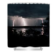 Everglades Triple Threat Shower Curtain