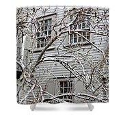 Exterior Views Of Paul Reveres House Shower Curtain