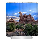 Eye View Of Arches Shower Curtain