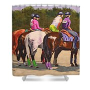 Fair On Deck Shower Curtain