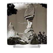Fairy Chimney In Goreme Shower Curtain