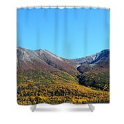 Fall Mountains Shower Curtain