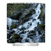 Fast Mover Shower Curtain