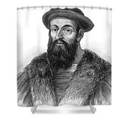 Ferdinand Magellan Shower Curtain