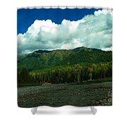 Fernie British Columbia  Shower Curtain