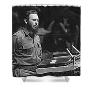 Fidel Castro (1926-) Shower Curtain