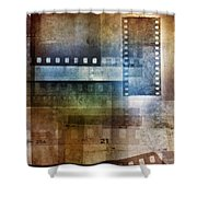 Film Negatives Shower Curtain