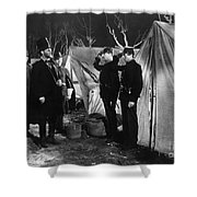Film Still: Abraham Lincoln Shower Curtain