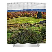 Fire In The Hole Shower Curtain