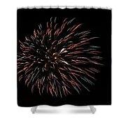 Fireworks Fun 3 Shower Curtain