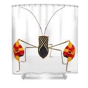 Flagfooted Bug Barbilla Np Costa Rica Shower Curtain