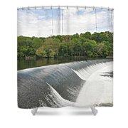 Flatrock Dam Shower Curtain