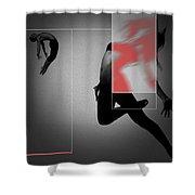 Flight Shower Curtain by Naxart Studio