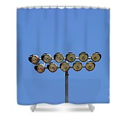 Floodlight  Shower Curtain