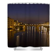 Florence - Ponte San Trinita Shower Curtain