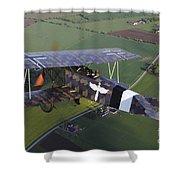 Fokker D.vii World War I Replica Shower Curtain