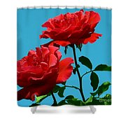 Forests Flowers Shower Curtain