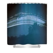 Four Months Of The Sun Moving Shower Curtain