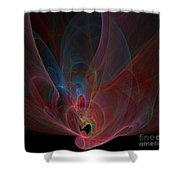 Fractal - Colorful Shower Curtain