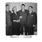 Frances P. Bolton (1885-1977) Shower Curtain by Granger