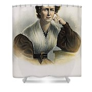 Frances Wright (1795-1852) Shower Curtain by Granger